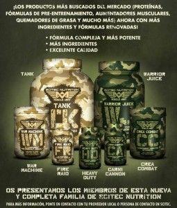 Muscle ARMY lo Nuevo de Scitec Nutrition