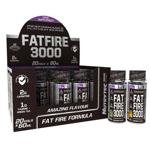 Fat Fire 3000 - 20 viales Nutrytec