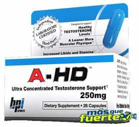 ganar testosterona con a-hd