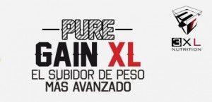 Comprar Pure Gain XL de 3XL Nutrition en Valencia