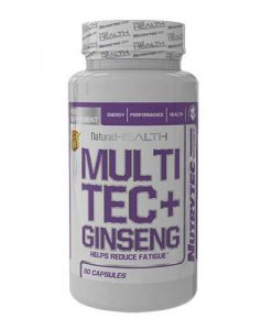multitec con ginseng 60 caps
