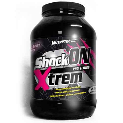 ShockOn-2lb de pre-entreno de nutrytec