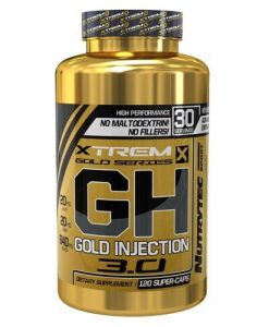 GH Gold Injection 3.0 Xtrem Series 120 Caps