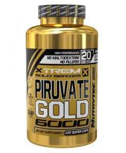 Piruvate Gold 6000 Xtrem Series 120 Caps