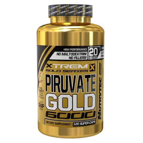 Piruvate Gold 6000 Xtrem Series 120 Caps