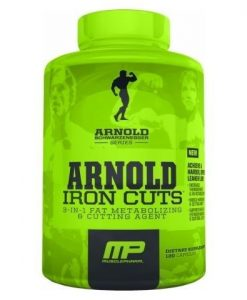 Arnold Series Iron Cuts 120 caps