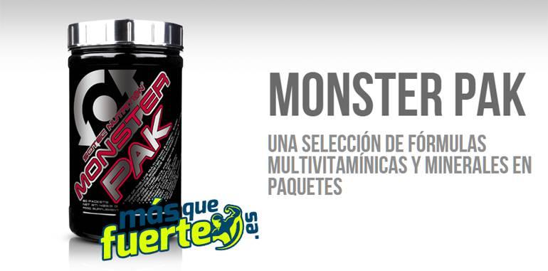comprar monster pak de scitec masquefuerte