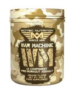 pre-entreno de scitec war machine