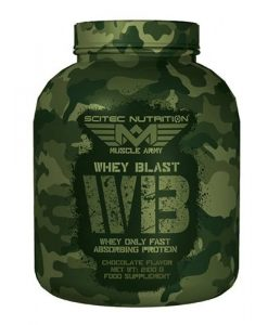 proteina whey blast de muscle army