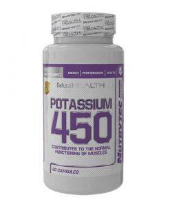 potasium 450 - 60 caps