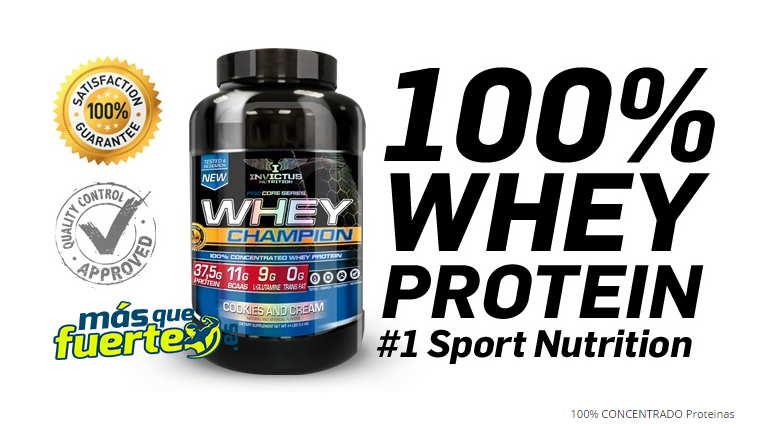 proteína whey invictus