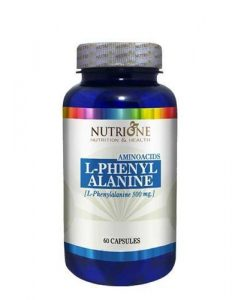 bote de aminoácido de fenilalanina
