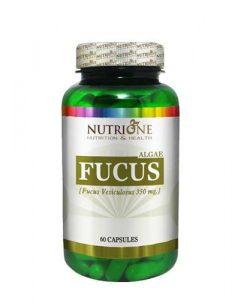 nutricion deportiva con 60 capsulas de fucus