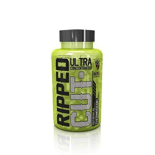 ripped cut 120 caps 3xl nutrition