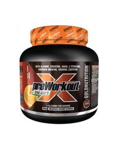 preworkout low cabr gold nutrition