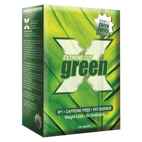 Extreme Cut Green 100 tabs - Gold Nutrition - Quemagrasas