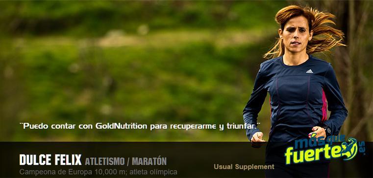 dulce felix atleta gold nutrition