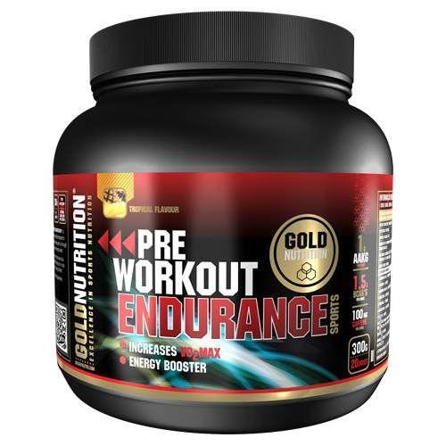 pre-entreno para endurance