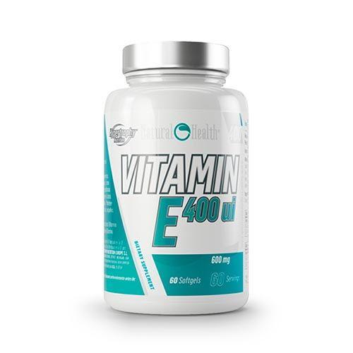 Bote de vitaminas del grupo E de Natural Health
