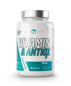 vitaminas y antioxidantes en bote MasQueFuerte