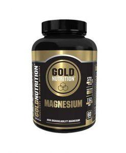 suplemento de magnesio de Gold nutrition