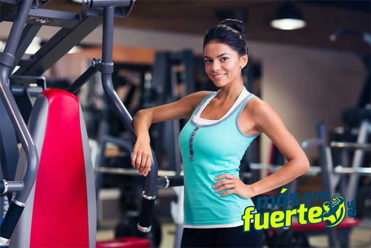 chica haciendo deporte para perder peso