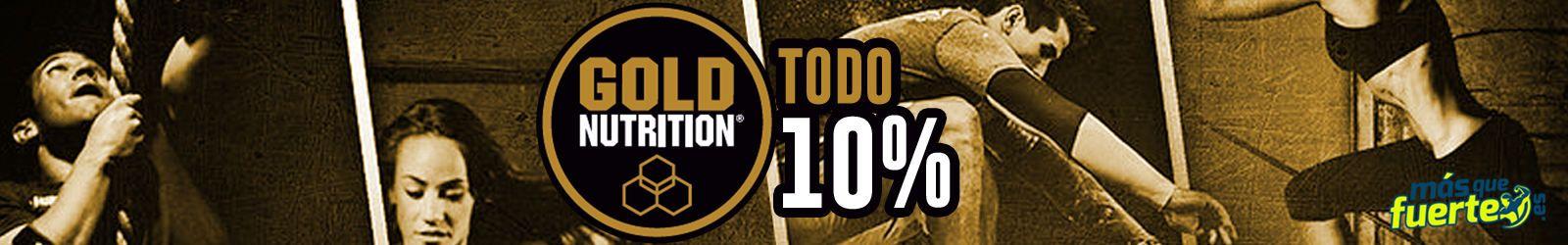 10% menos en Gold Nutrition!