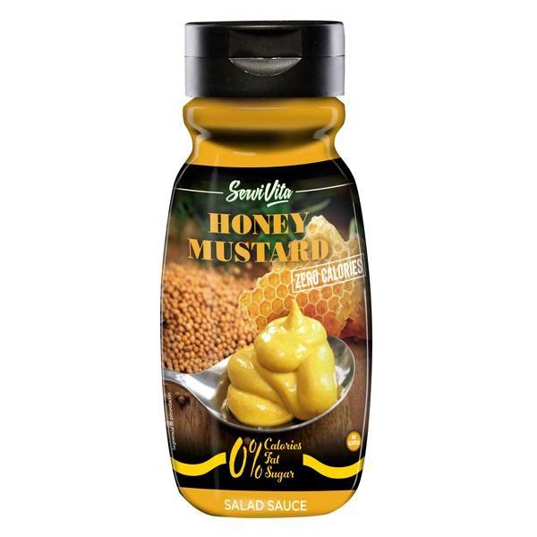 salsa miel y mostaza servivita