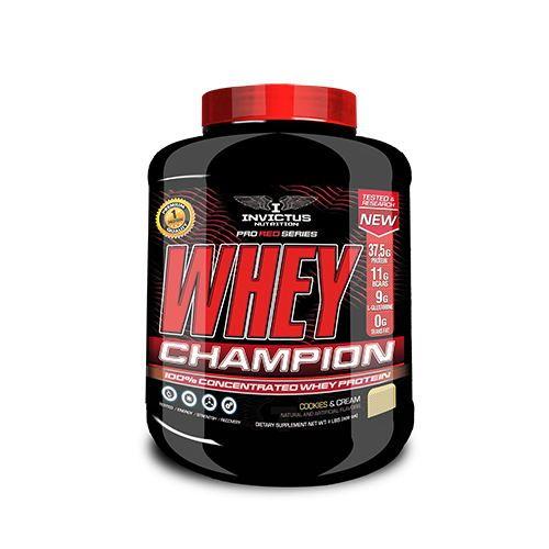 whey champion invictus red line 3kg